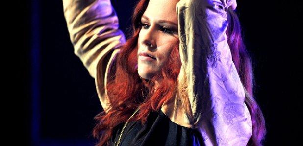 Katy B performs live