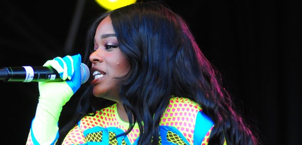 Azealia Banks at T in the Park 2013