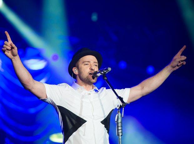 Justin Timberlake on stage