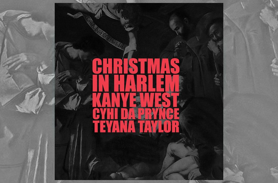 Kanye West 'Christmas In harlem' artwork