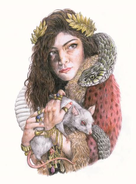 Lorde sketch