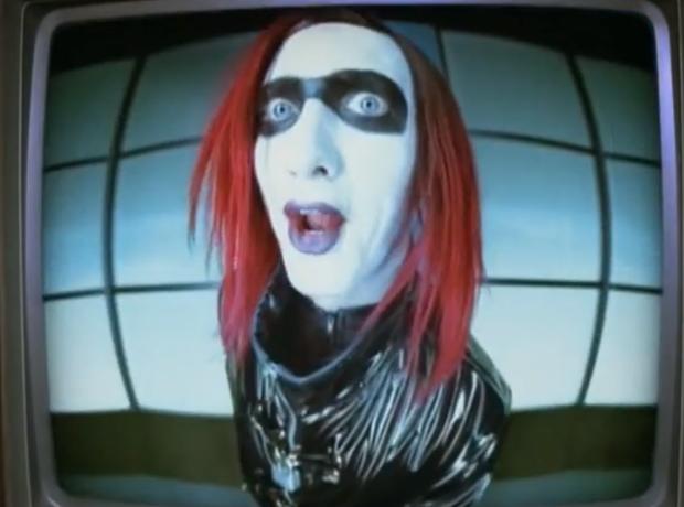 Eminem as Marilyn Manson