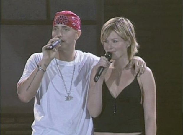 Eminem and Dido