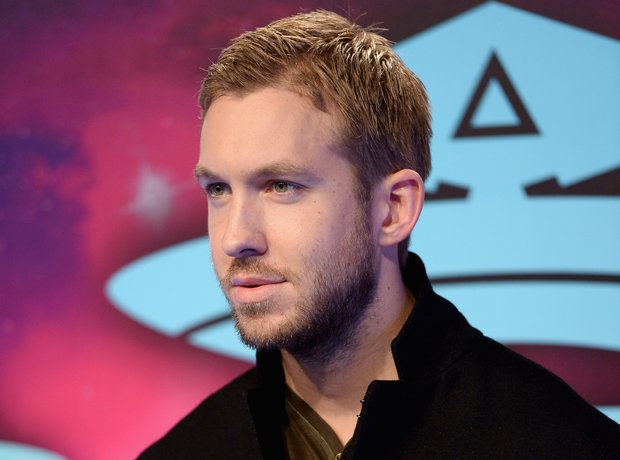Calvin harris at MTV EMAs 2013