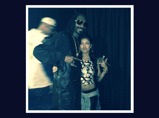 Snoop Dogg and Jhene Aiko