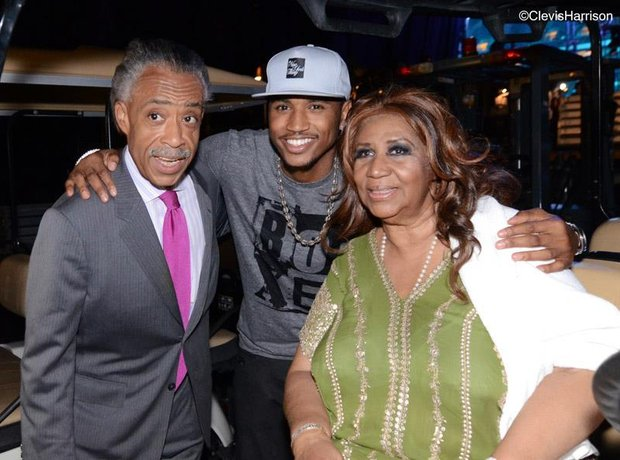 Trey Songz aretha franklin