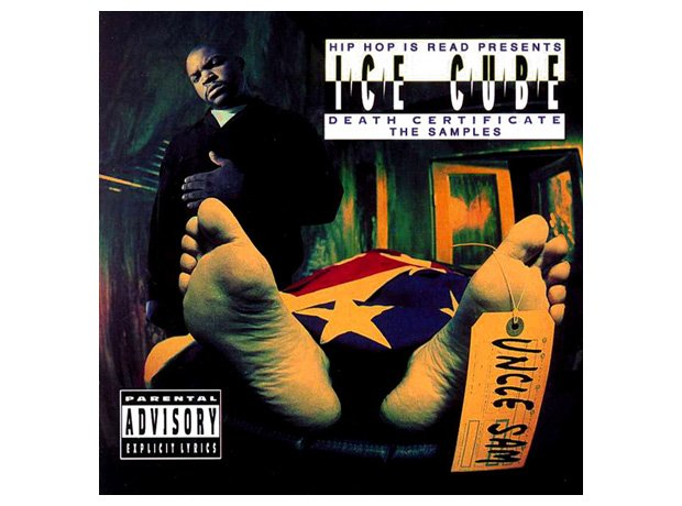 Ice Cube, 'Death Certificate' album cover artwork