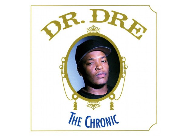 Dr Dre , 'The Chronic' album cover artwork
