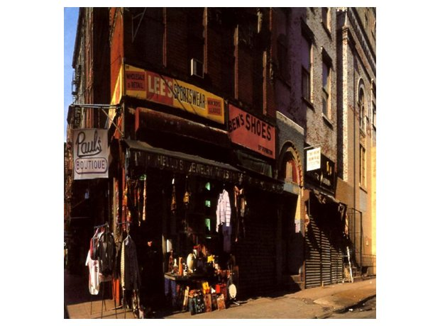Beastie Boys, 'Paul's Boutique' album cover artork