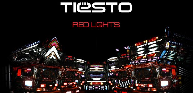 Tiesto 'Red Lights' artwork