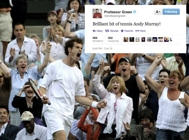 Andy Murray Pro Green Twitter