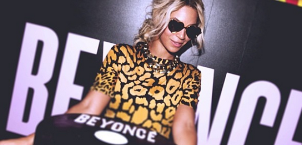 Beyonce album launch