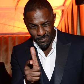 Idris Elba Golden Globe Awards aftershow
