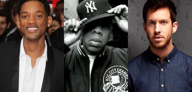 Jay Z, Calvin Harris, Will Smith