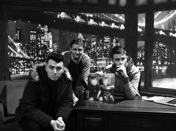 Sam Smith Disclosure Jimmy Fallon