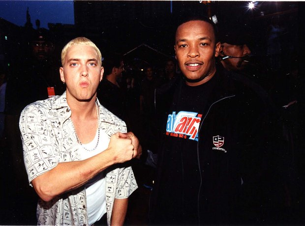 Eminem and Dr. Dre