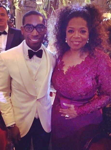 Tinie Tempah and Oprah Winfrey
