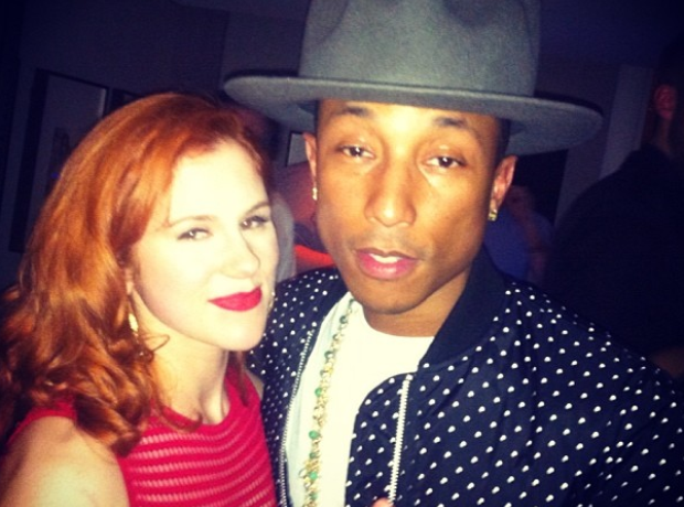 Katy B and Pharrell