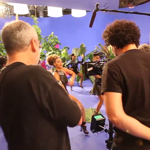 Beyonce Behind the scenes music video