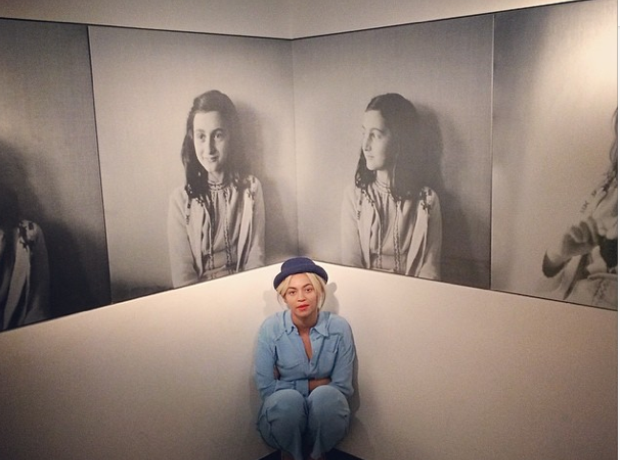 Beyonce Anne Frank Museum
