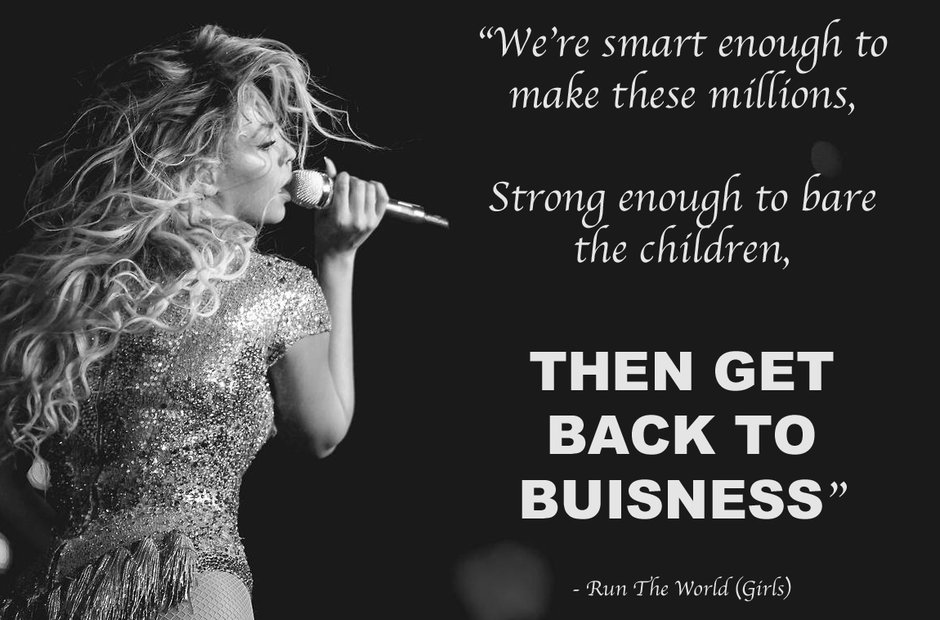 Beyonce's fiercest lyrics