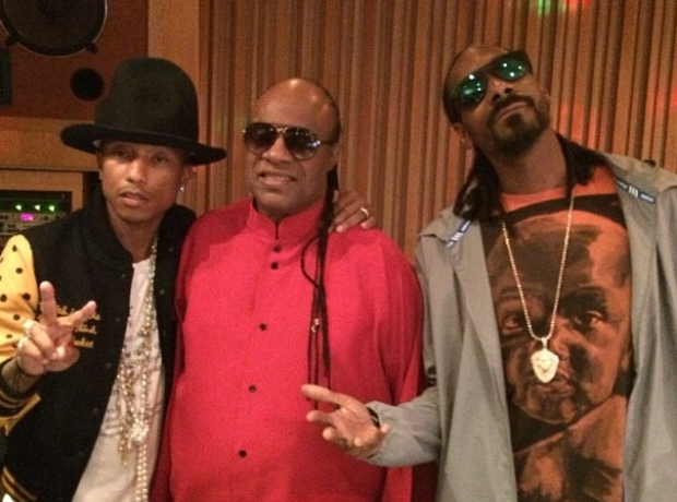 Pharrell Stevie Wonder Snoop Dogg