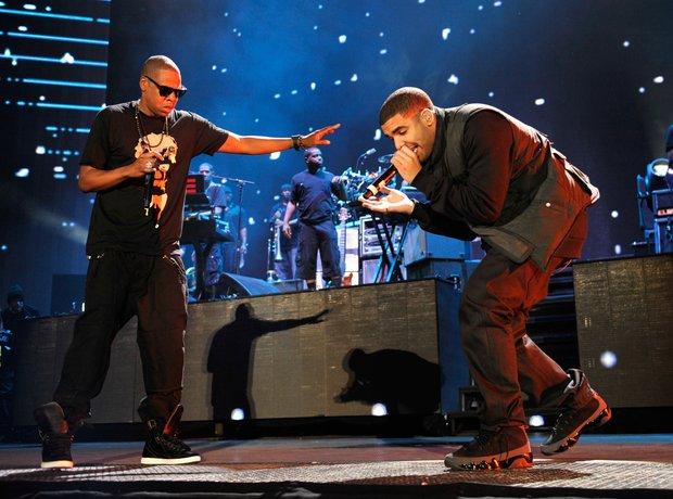 Jay-Z and Drake