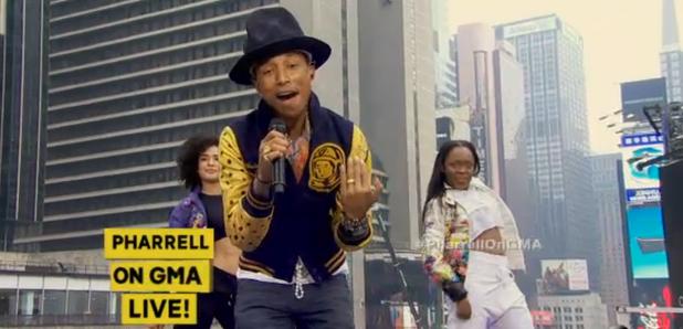 Pharrell good morning america