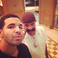 Image 3: Drake and his dad selfie Instagram
