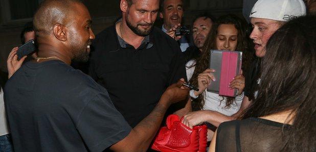 Kanye West in Paris