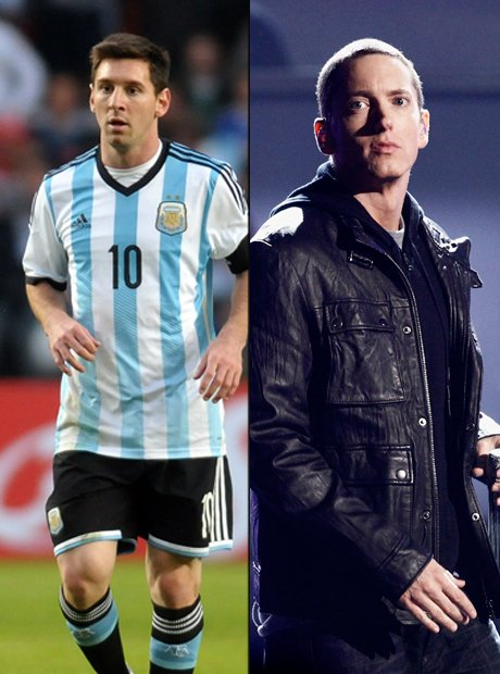 Rapper vs Footballer