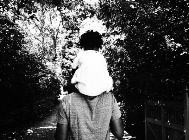 Jay Z and Blue Ivy Carter on Father's Day