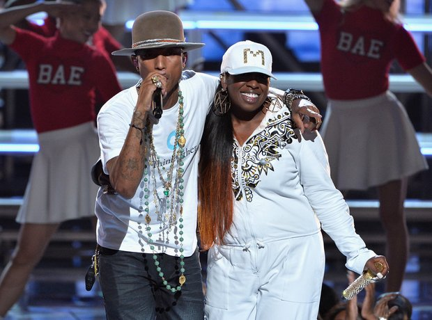 Pharrell Missy Elliott BET Awards 2014 7