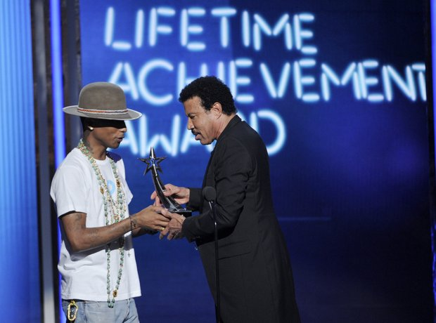 Pharrell Williams and Lionel Richie