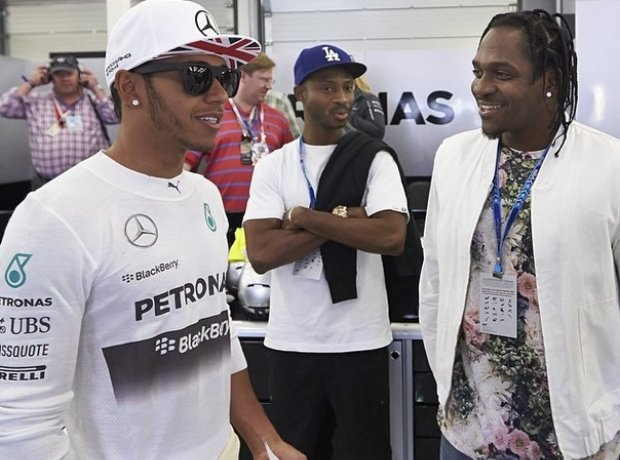 Lewis Hamilton And Pusha T