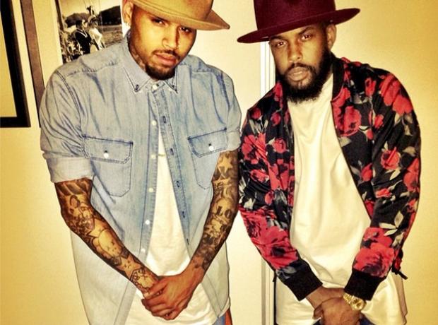 Chris Brown Pharrell hat