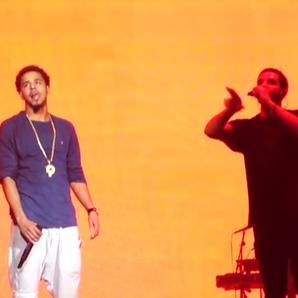 Drake and J Cole...J Cole 2014