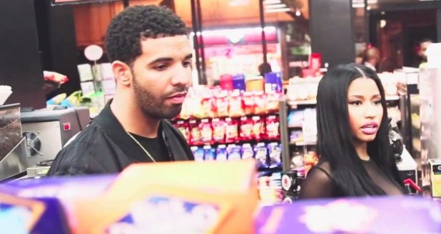 Drake And Nicki MInaj Shopping