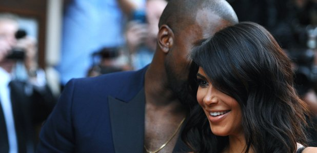 Kanye West and Kim Kardashian GQ Awards 2014