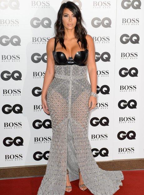 Kim Kardashian at the GQ Awards 2014