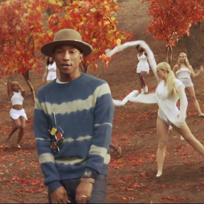 Pharrell Gust Of Wind video