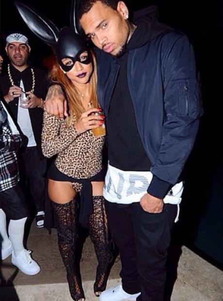 Chris Brown karrueche tran Instagram