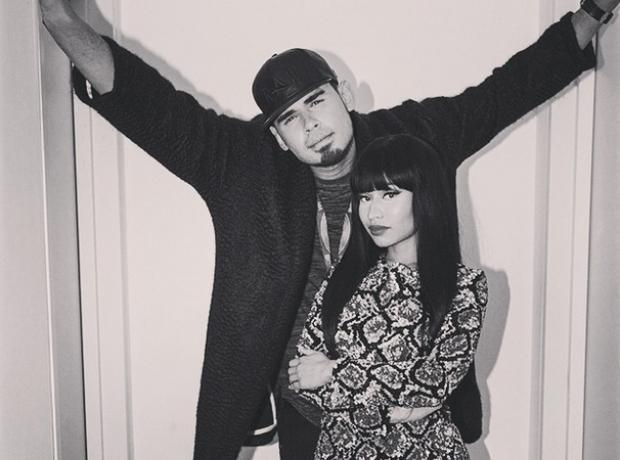 Nicki Minaj Afrojack EMAs 2014
