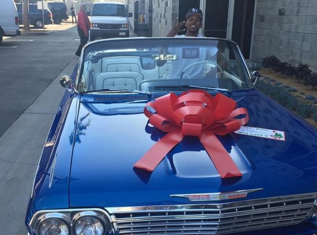 Iggy Azalea bought boyfriend Nick Young a car for
