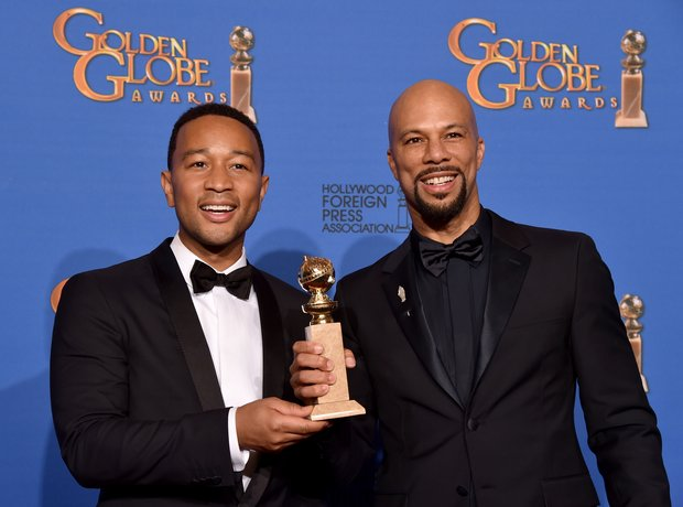 John Legend and Common Golden Globes 2015