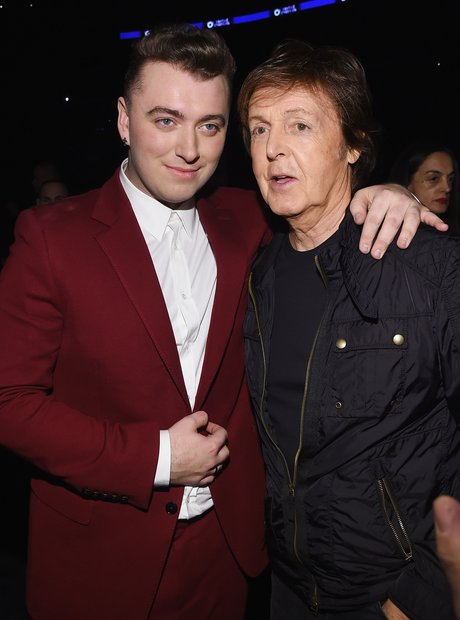 Sam Smith and Sir Paul McCartney