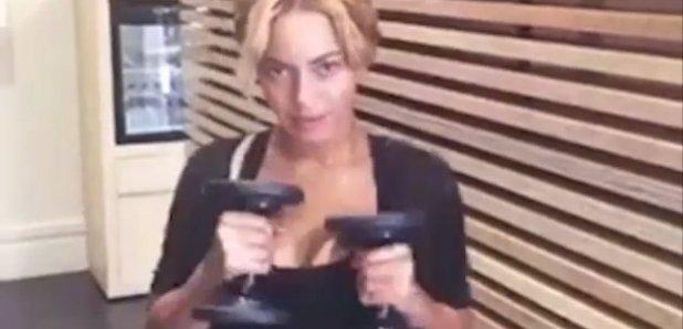 Beyonce Gym
