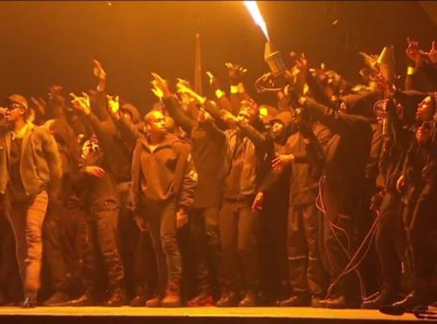 Kanye West BRIT Awards 2015