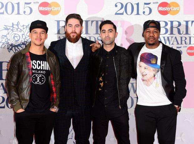 Rudimental BRIT Awards Red Carpet 2015