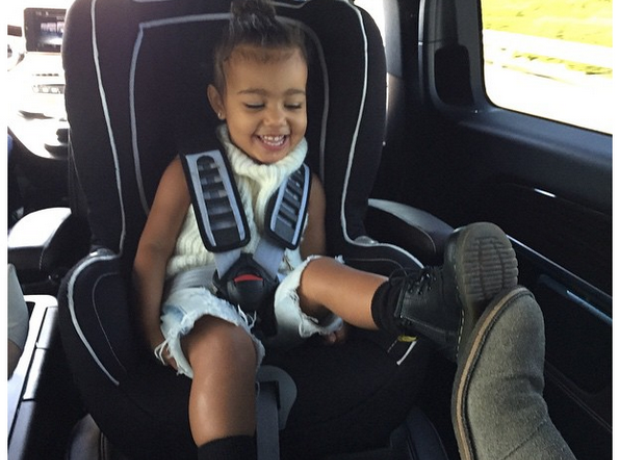 North West footsie Instagram